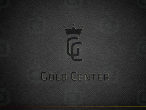 Gold center logo4